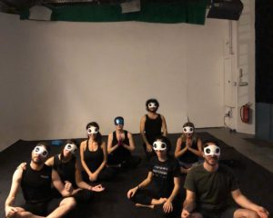 LOUD - BLINDFOLD YOGA