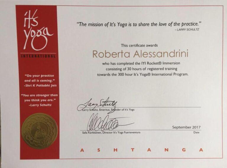 diploma yoga rocket