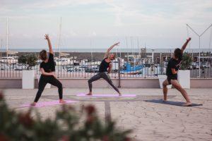 yoga alla marina